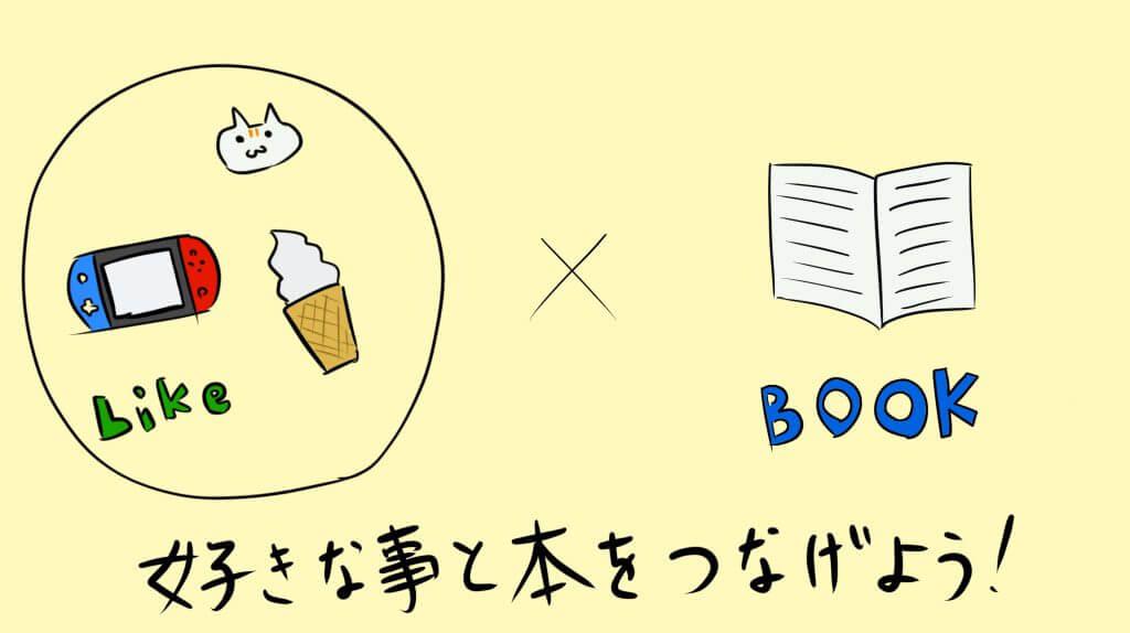 好きなことと本と繋げてみよう!